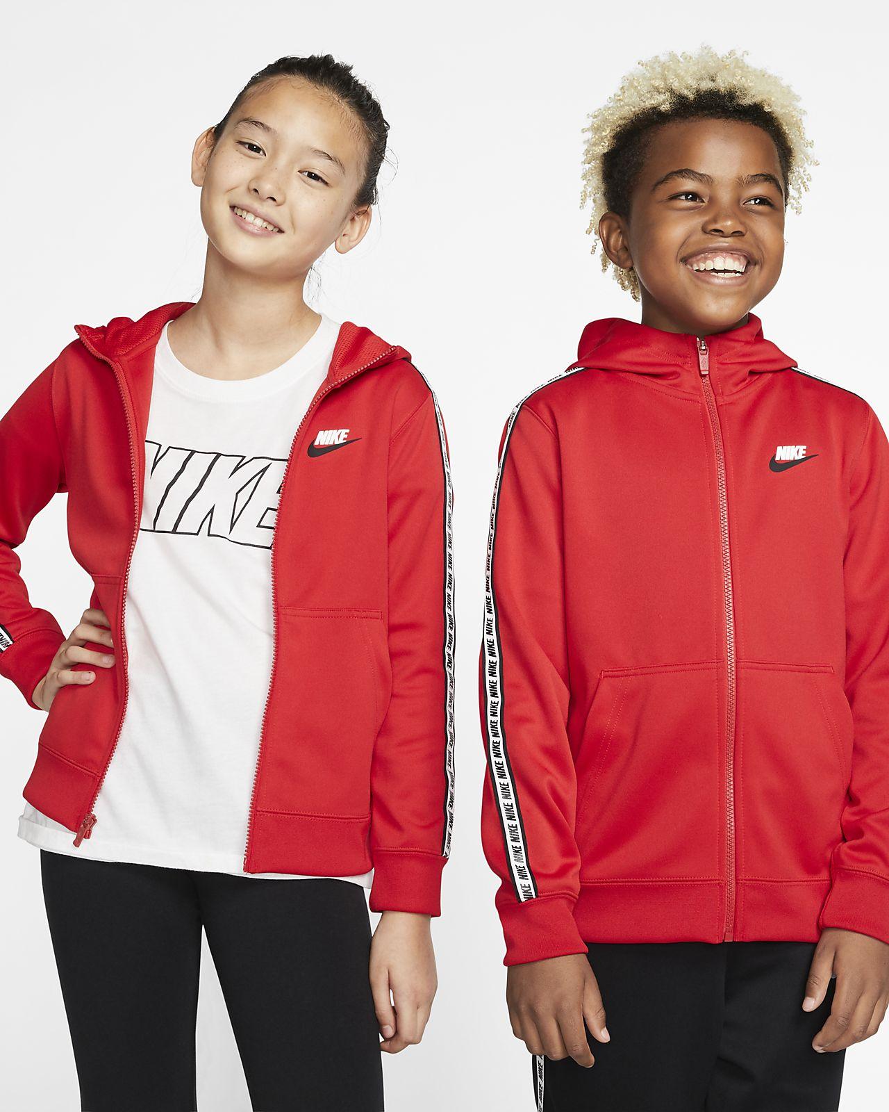 Felpa con cappuccio e zip a tutta lunghezza Nike Sportswear - Ragazzi