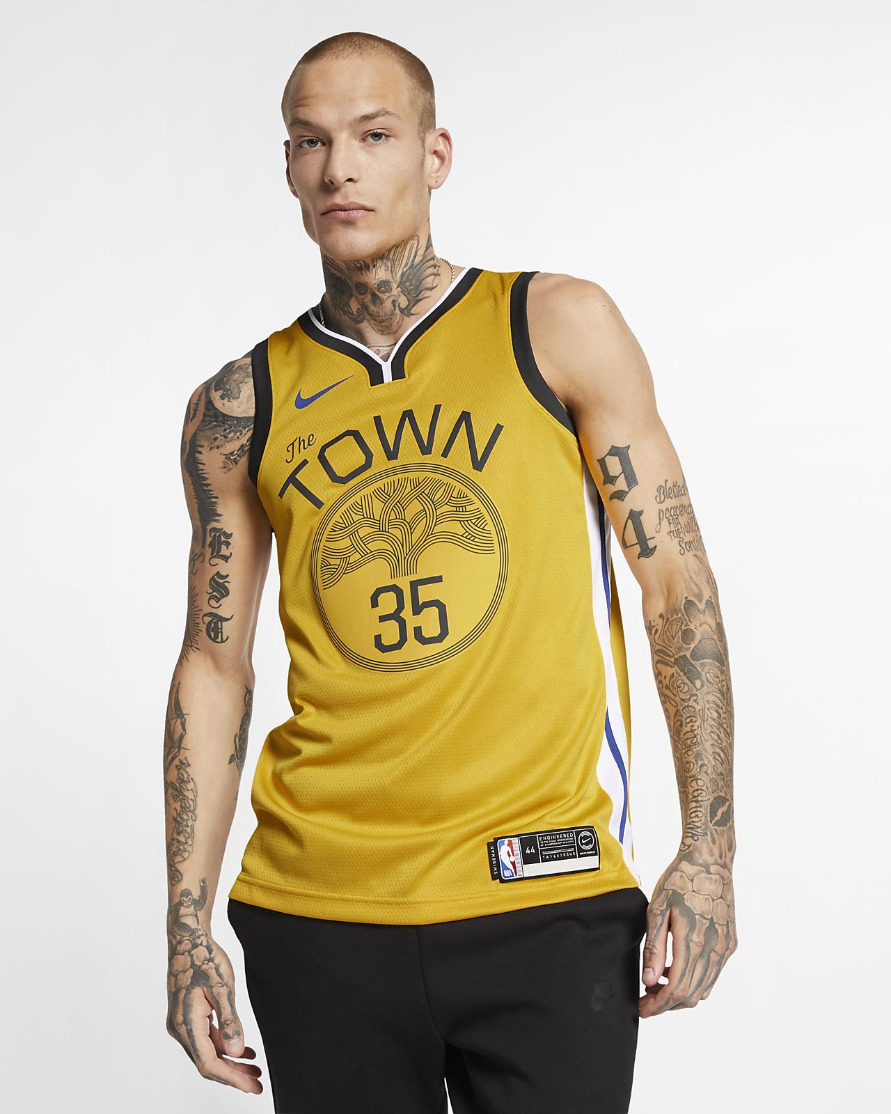 Kevin Durant Earned City Edition Swingman (Golden State Warriors) 男款 Nike NBA Connected Jersey