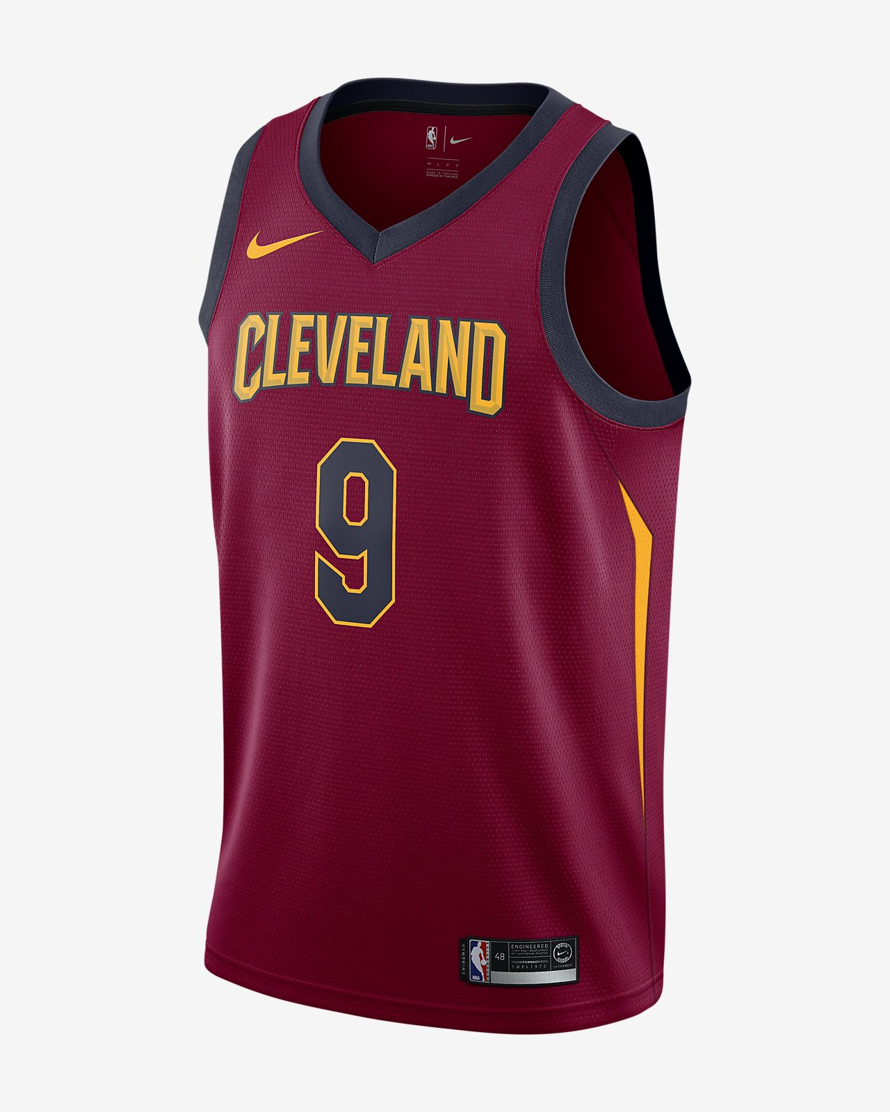 online store 54453 d8ac8 Dwyane Wade Icon Edition Swingman Jersey (Cleveland Cavaliers) Men's Nike  NBA Connected Jersey