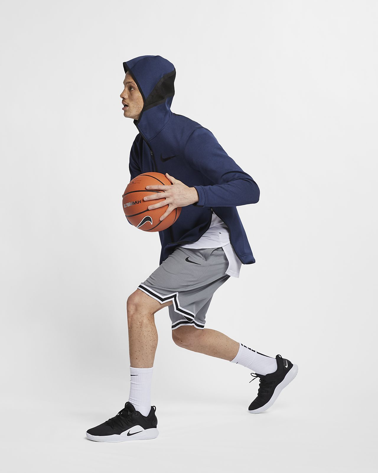 e49f9109d66b Nike Therma Flex Showtime Men s Full-Zip Basketball Hoodie. Nike.com
