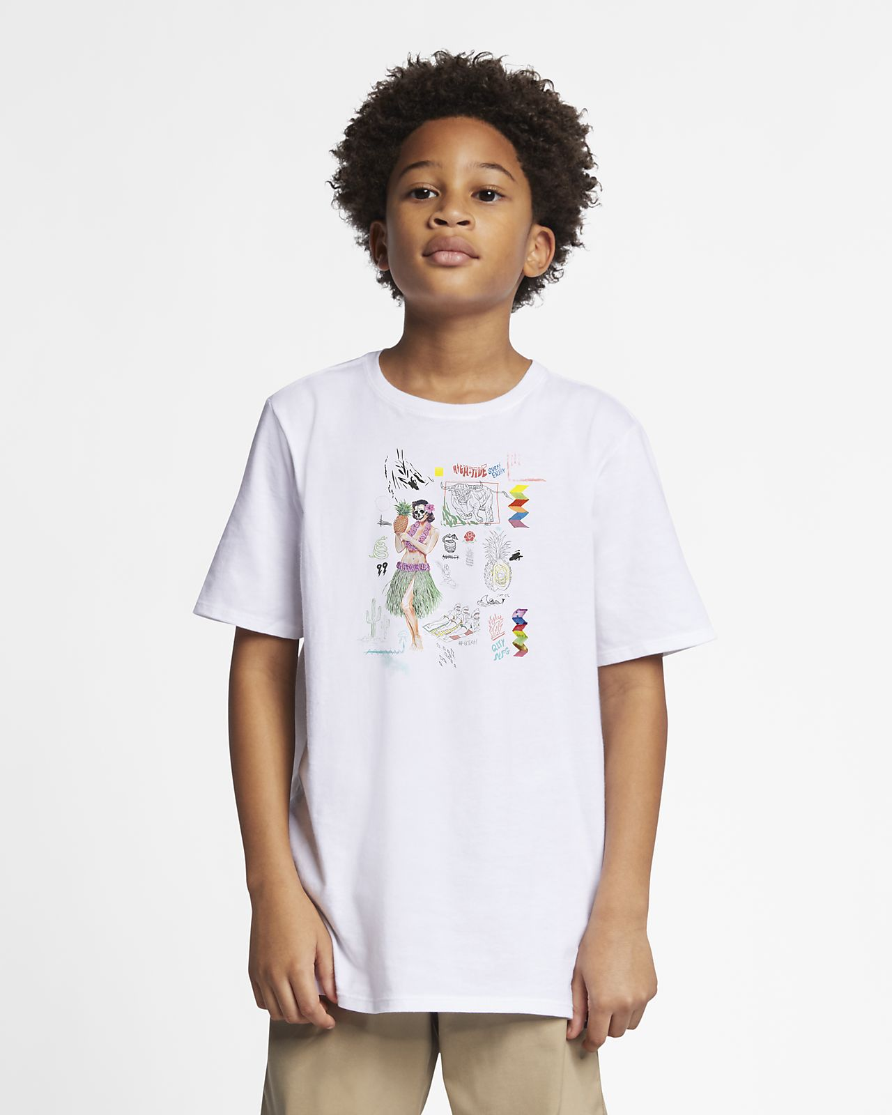 T-shirt Hurley Premium Doom för killar