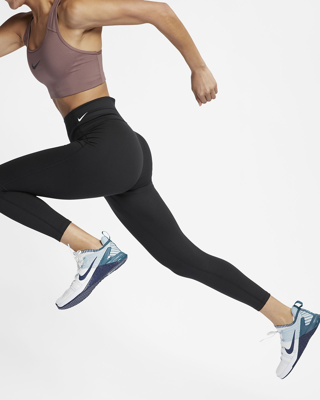 Nike Training All Sport Cropped Leggings In Black | Nike