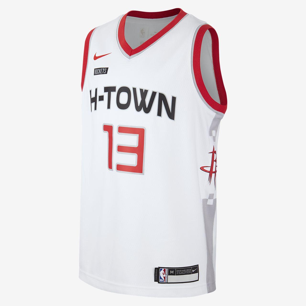 Rockets City Edition Nike NBA Swingman trøje til store børn
