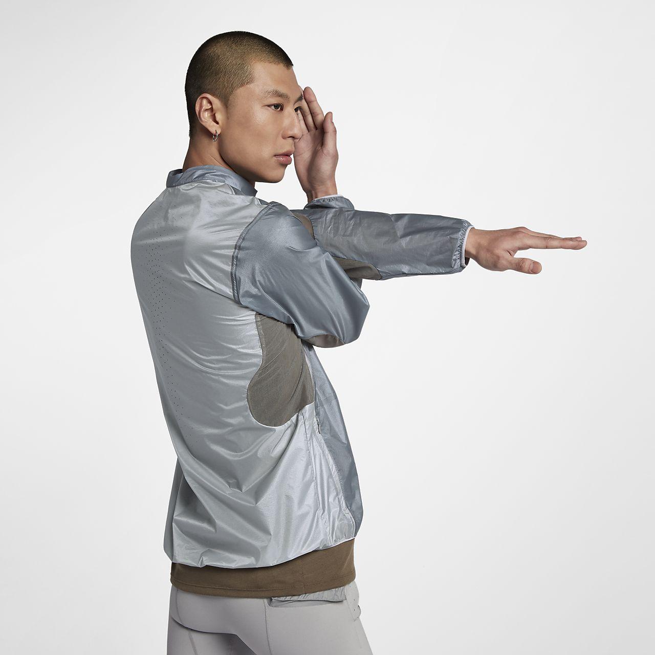 เสื้อแจ็คเก็ตแขนยาวแบบพับได้ผู้ชาย Nike Gyakusou