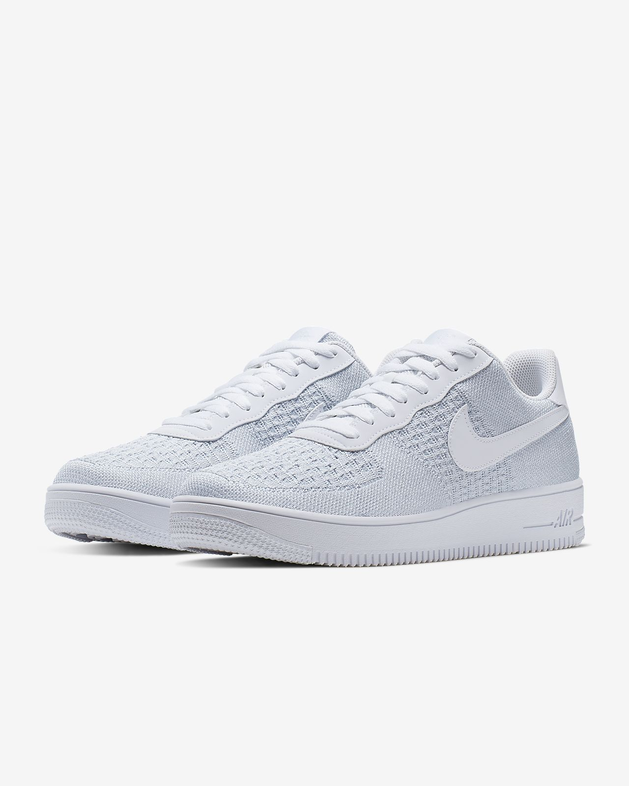 870a5053ef Top 10 Punto Medio Noticias | Nike Air Force Flyknit 2.0 White