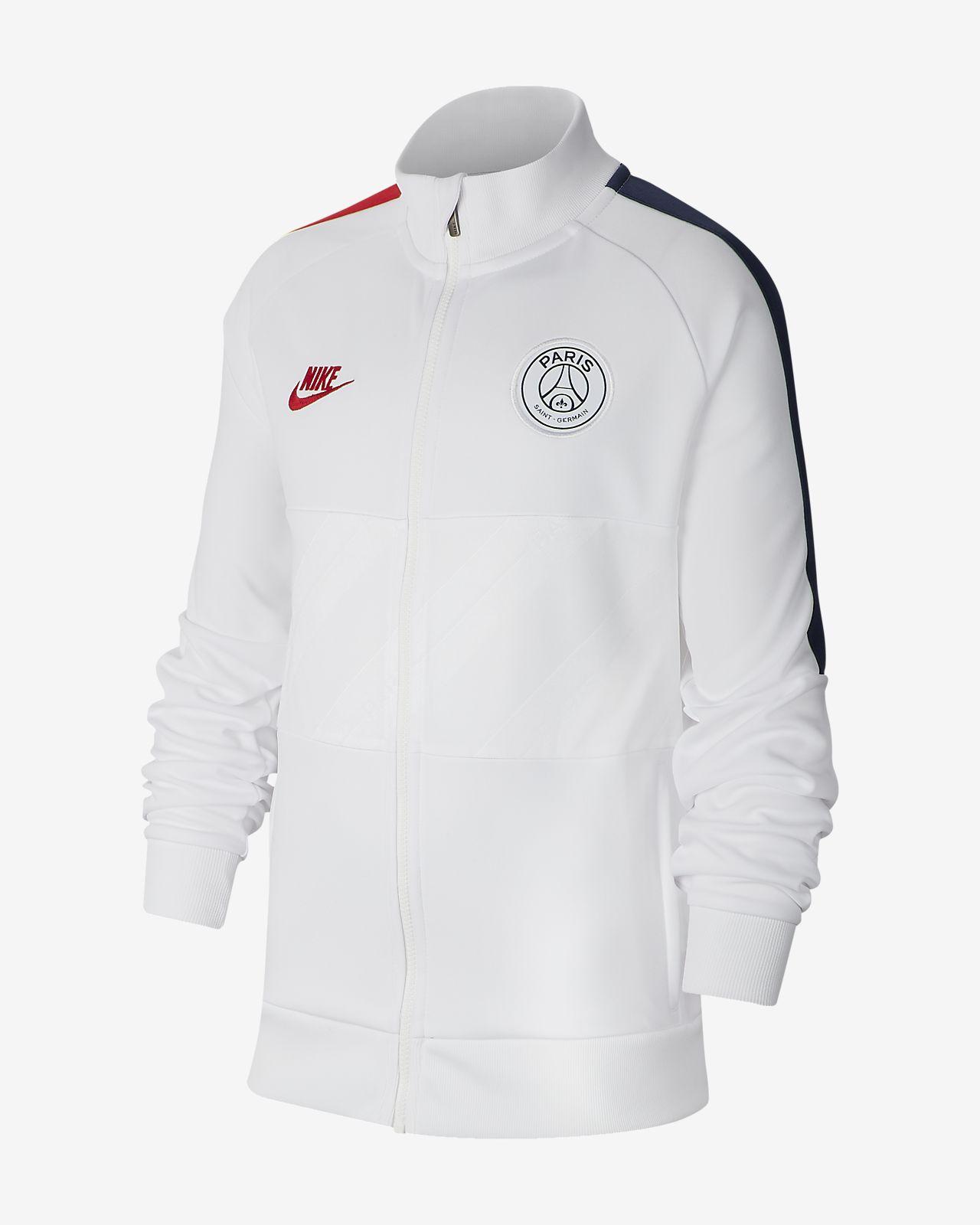 巴黎圣日耳曼大童足球夹克