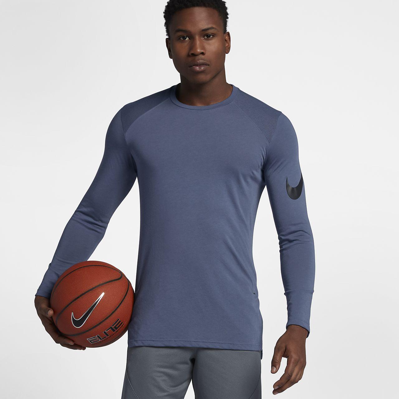 ffd39522b5 Nike Breathe Elite Camiseta de baloncesto de manga larga - Hombre ...