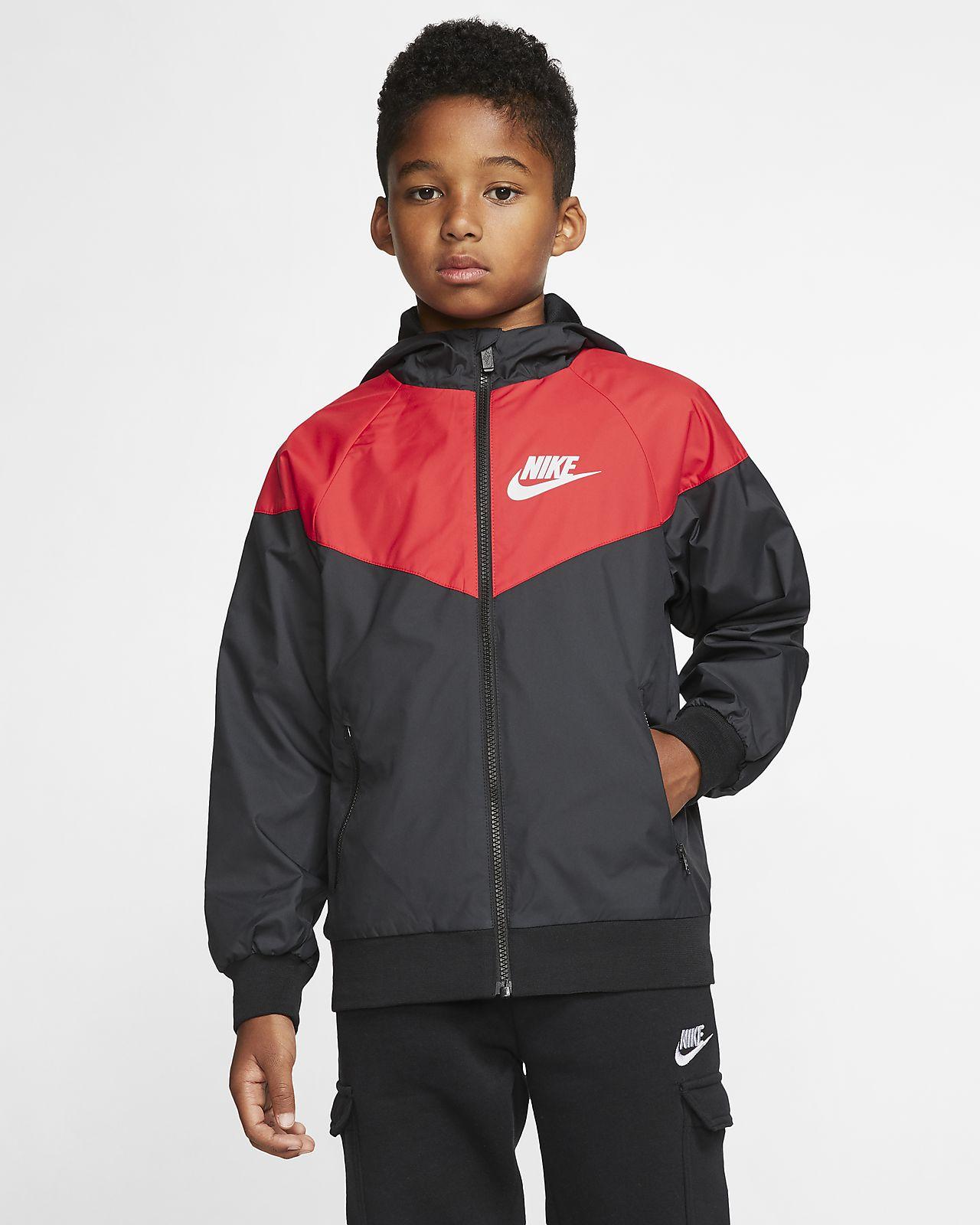 Nike Sportswear Windrunner jakke for store barn (gutt)