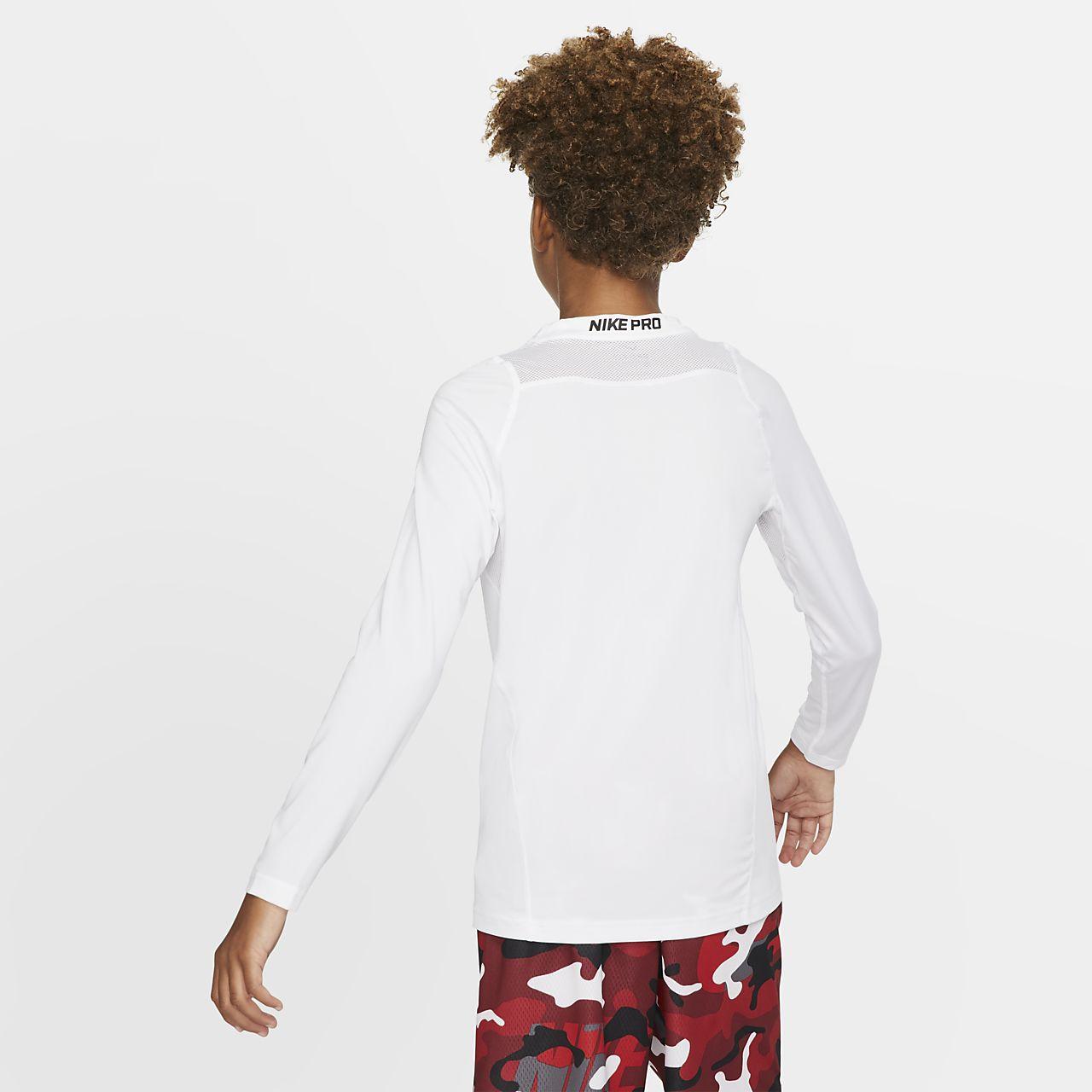 e28818fe3 Nike Pro Big Kids' (Boys') Long Sleeve Training Top. Nike.com