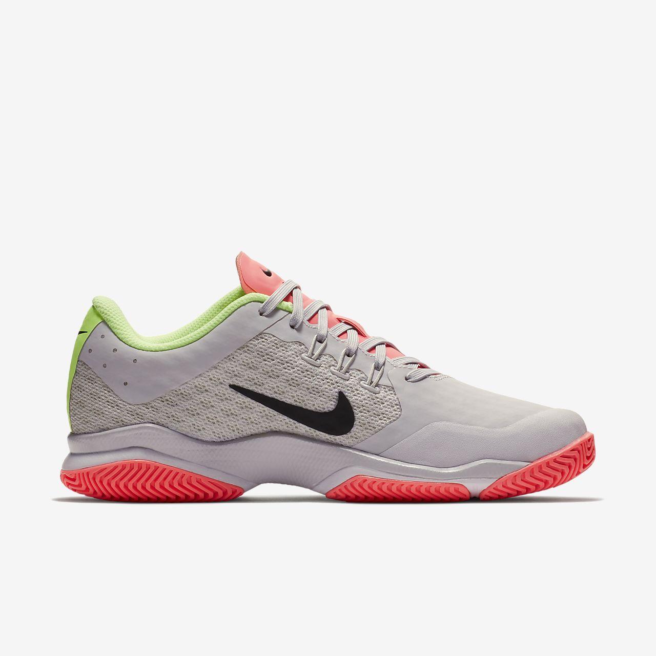 Nike WMNS Air Zoom Ultra Cly Chaussures de Tennis Femme Verde Verde
