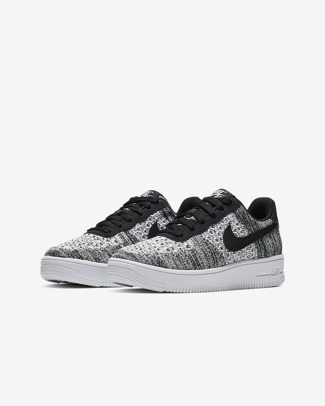 check out a18cc d7a3b ... Nike Air Force 1 Flyknit 2.0 Younger Older Kids  Shoe