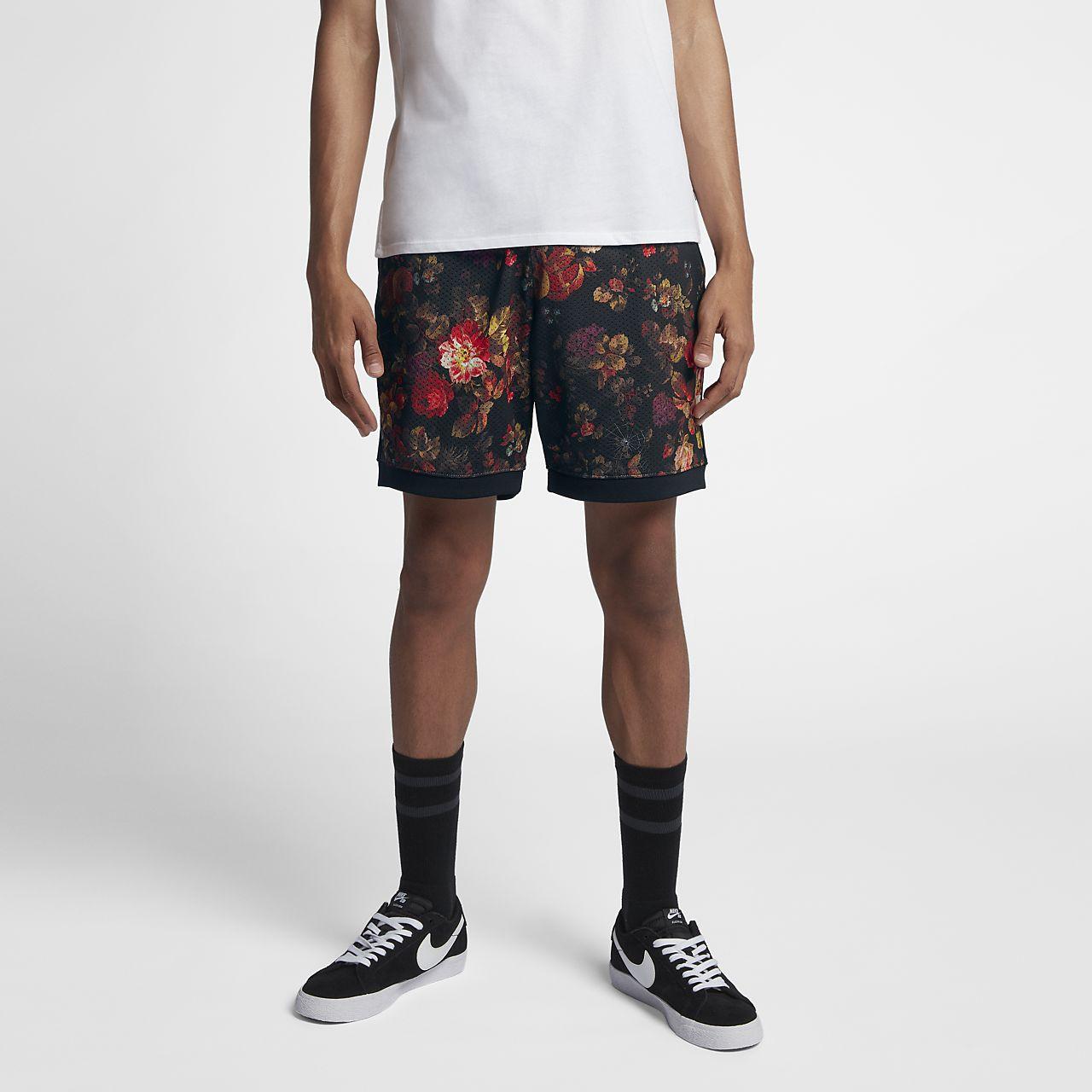 กางเกงขาสั้นผู้ชายพิมพ์ลาย Nike SB Dri-FIT