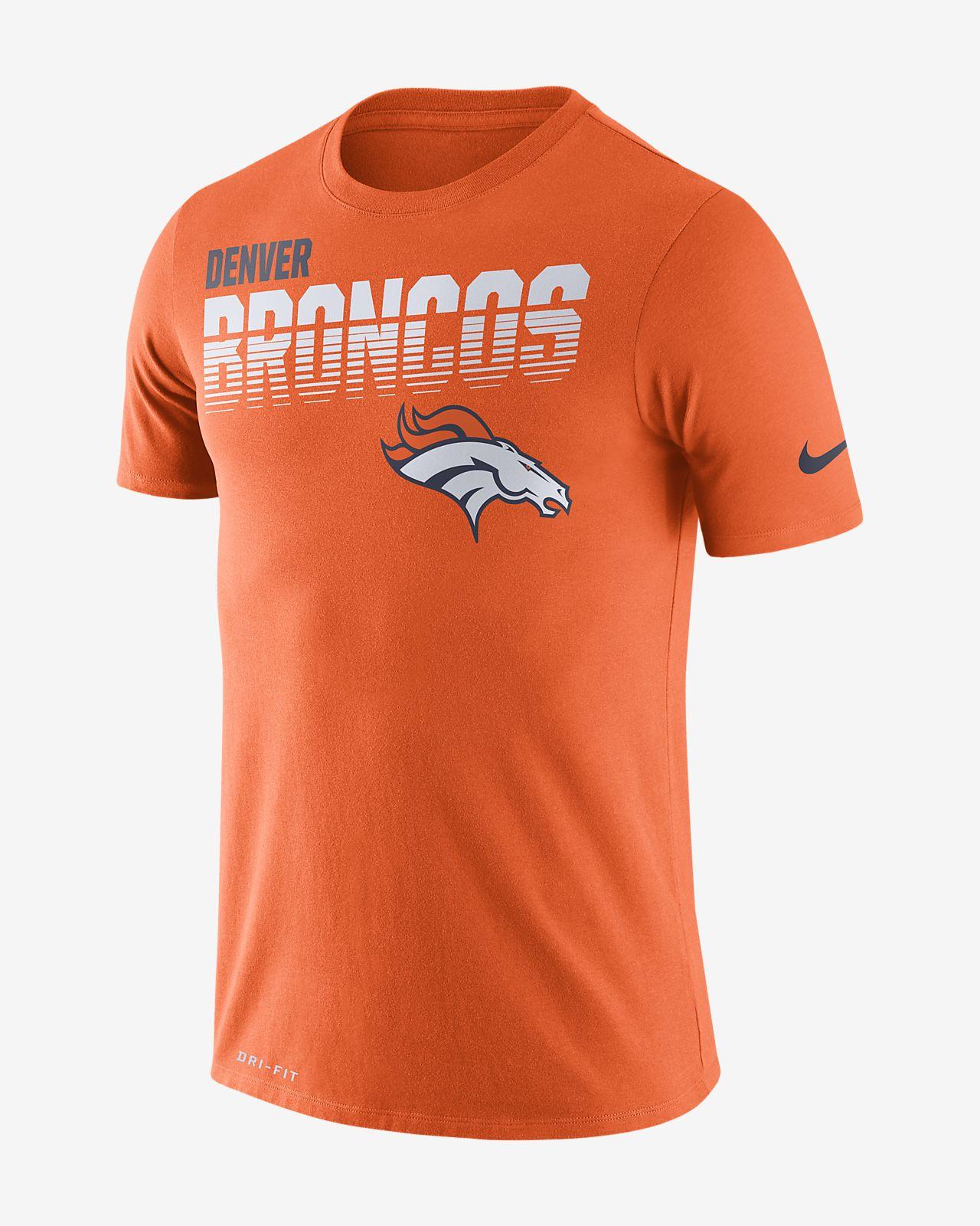 Tee-shirt à manches longues Nike Legend (NFL Broncos) pour Homme
