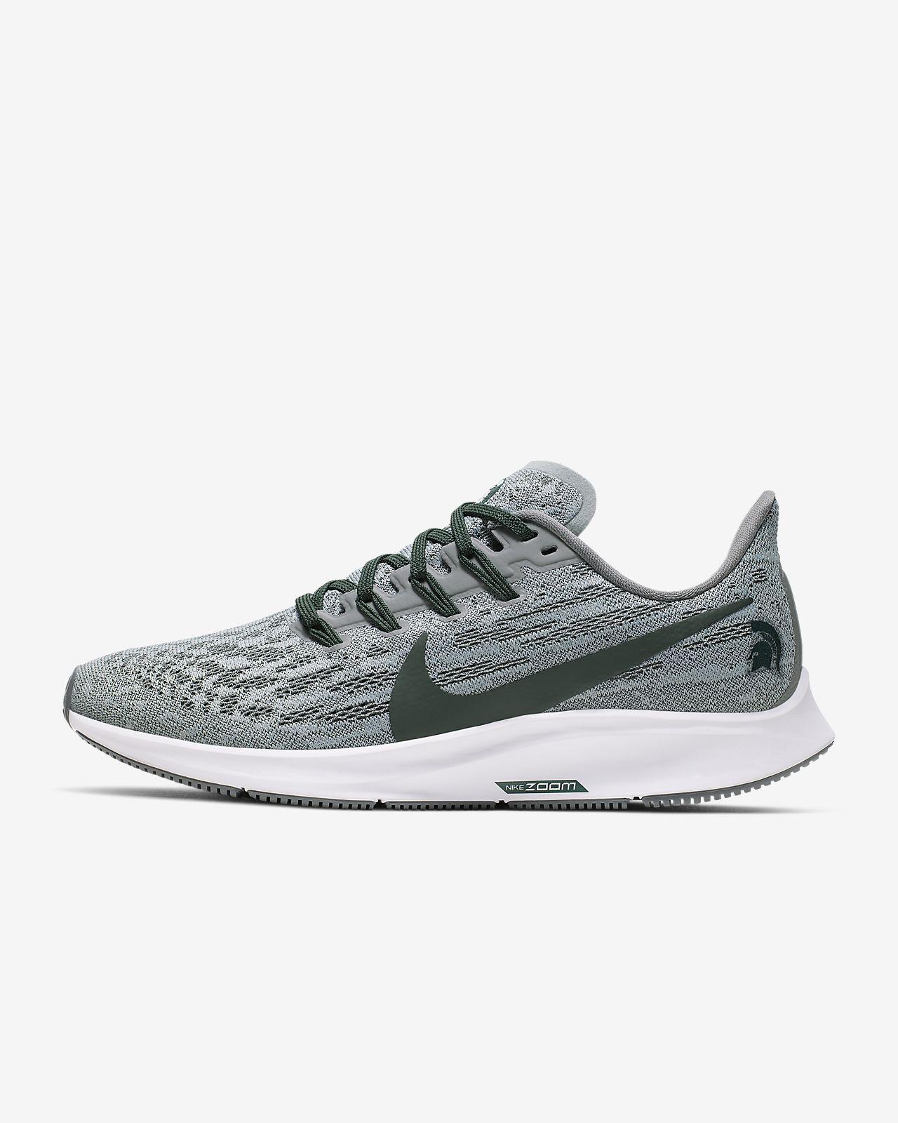 Nike Air Zoom Pegasus 36 (Michigan State) Women's Running Shoe
