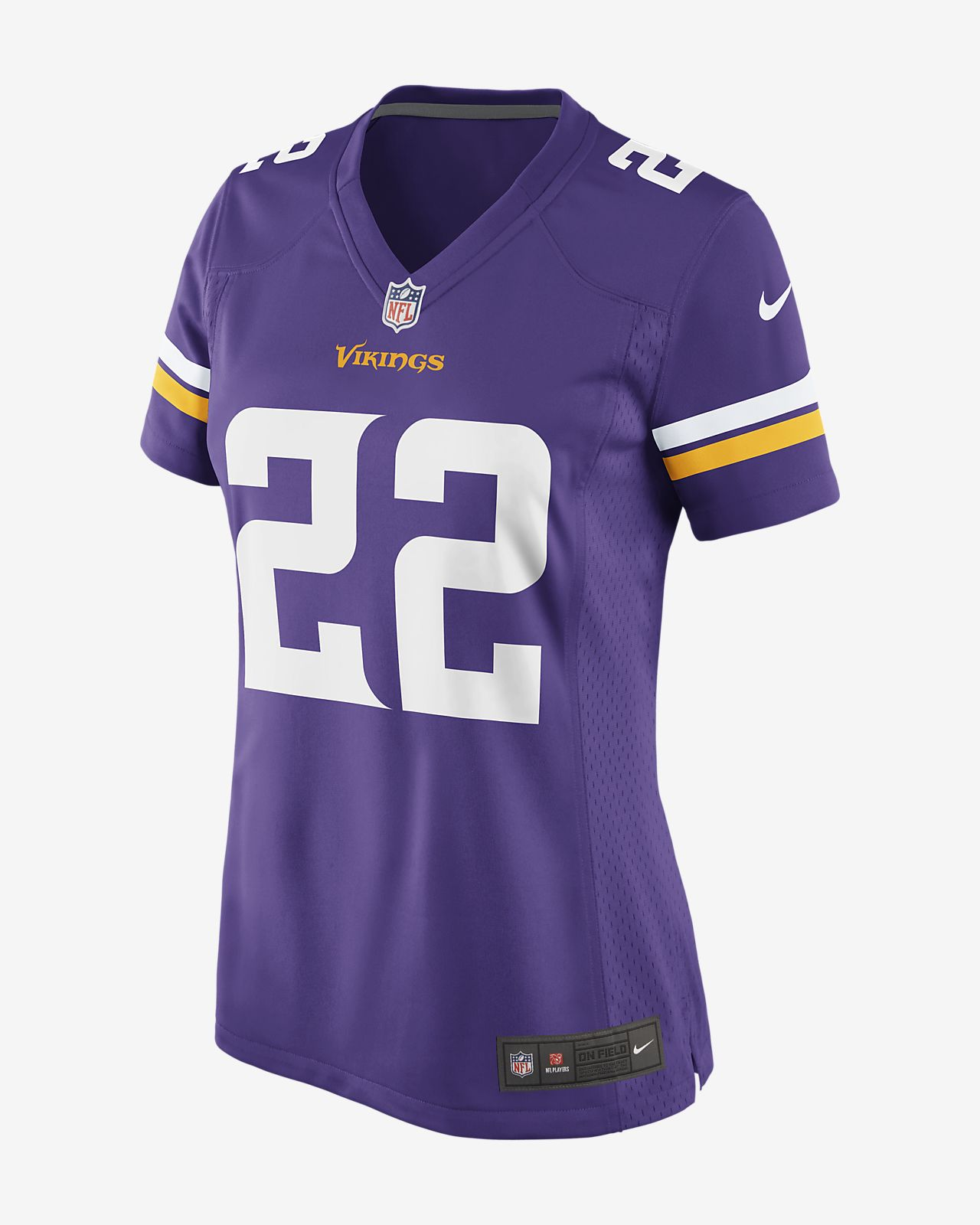 5bf472366 NFL Minnesota Vikings Game (Harrison Smith) Women s Football Jersey ...