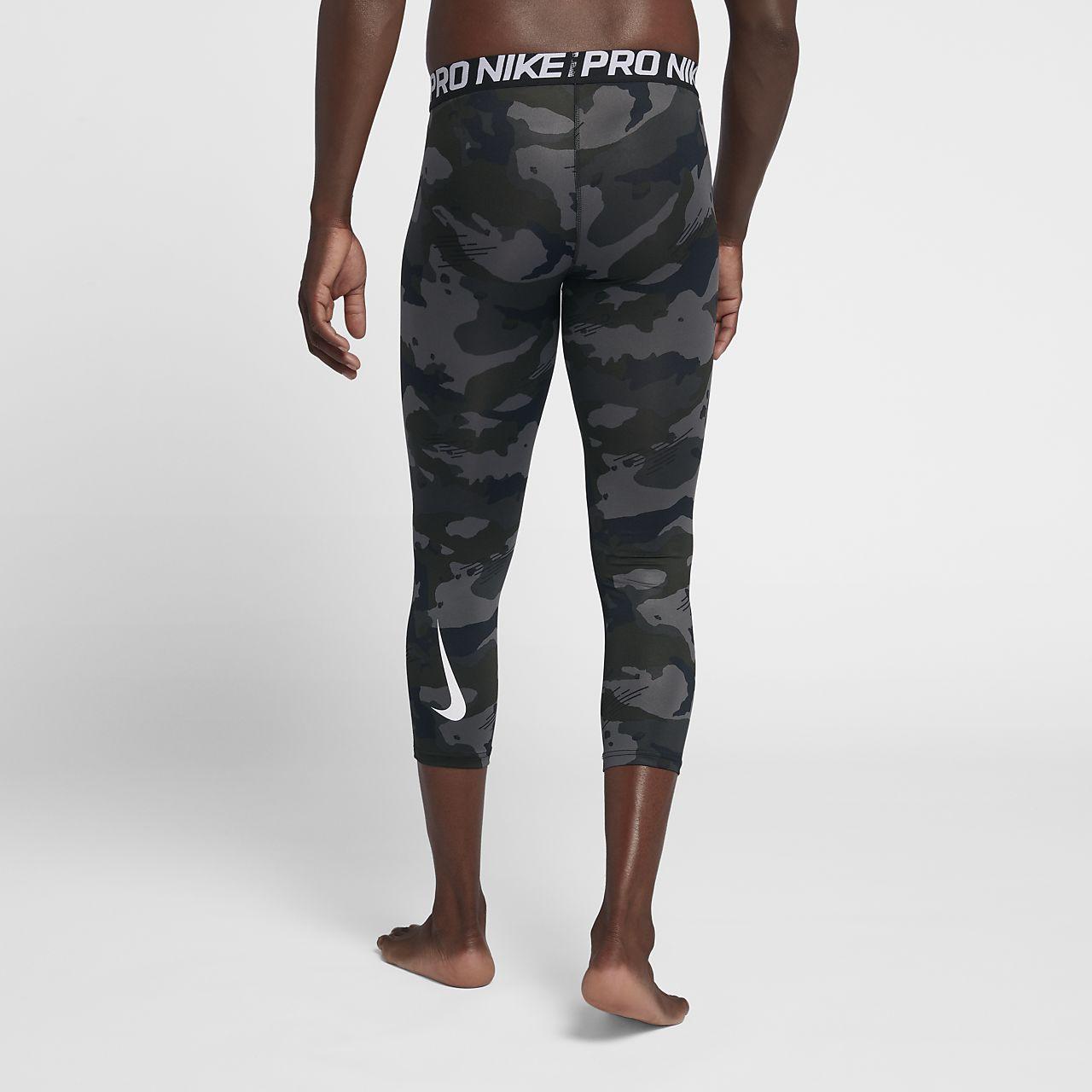 0168ed833f Nike Pro Men's 3/4 Camo Tights. Nike.com ID