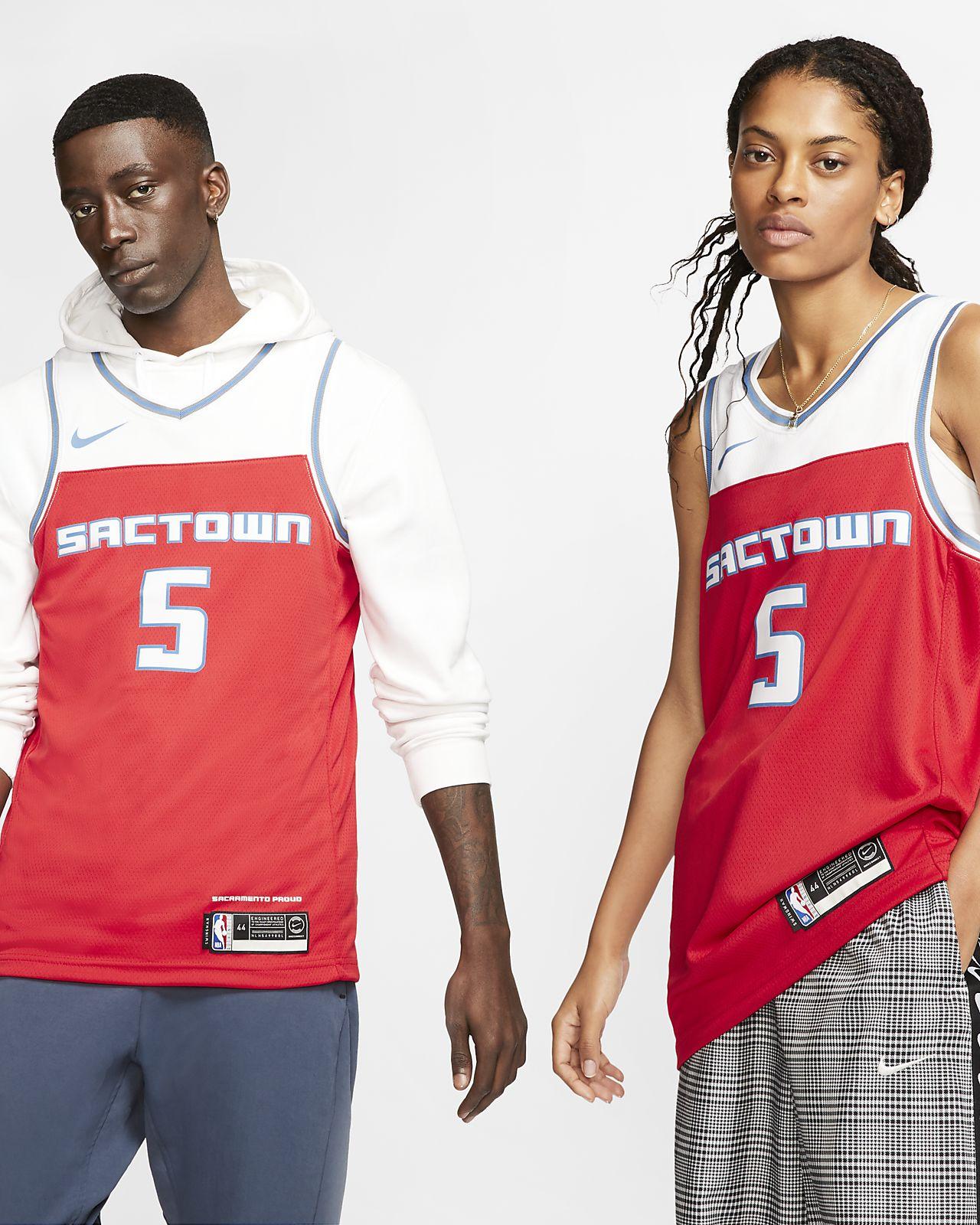 Maillot Nike NBA Swingman De'aaron Fox Kings City Edition