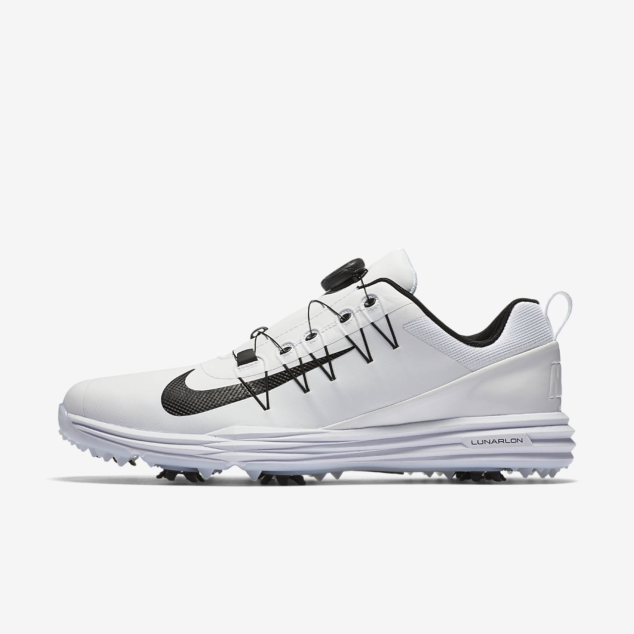 Nike Lunar Command 2 Scarpe da Golf Uomo Nero Black/White 42 EU