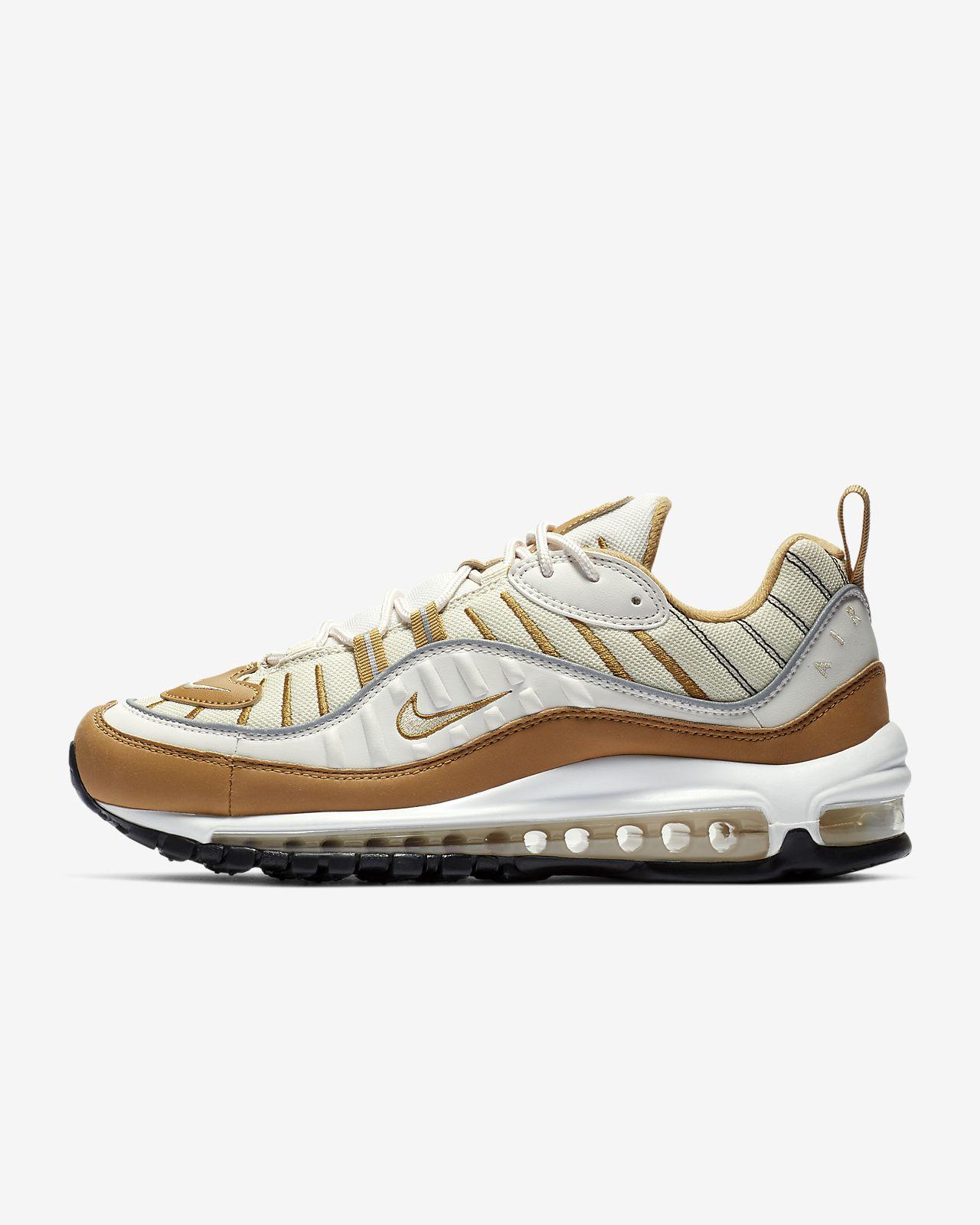 huge selection of 79761 fde63 ... Nike Air Max 98 Beige damesko