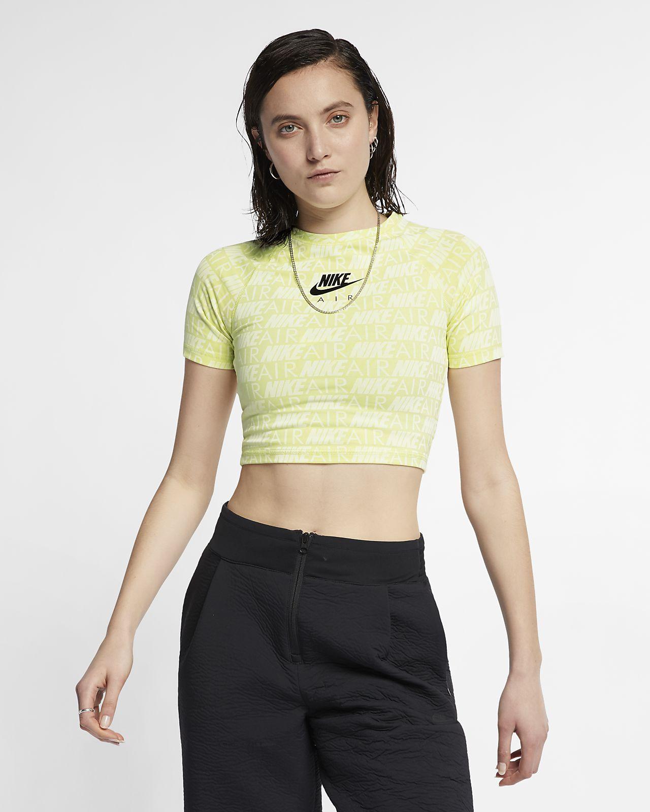 Nike Air Camiseta de manga corta con estampado - Mujer