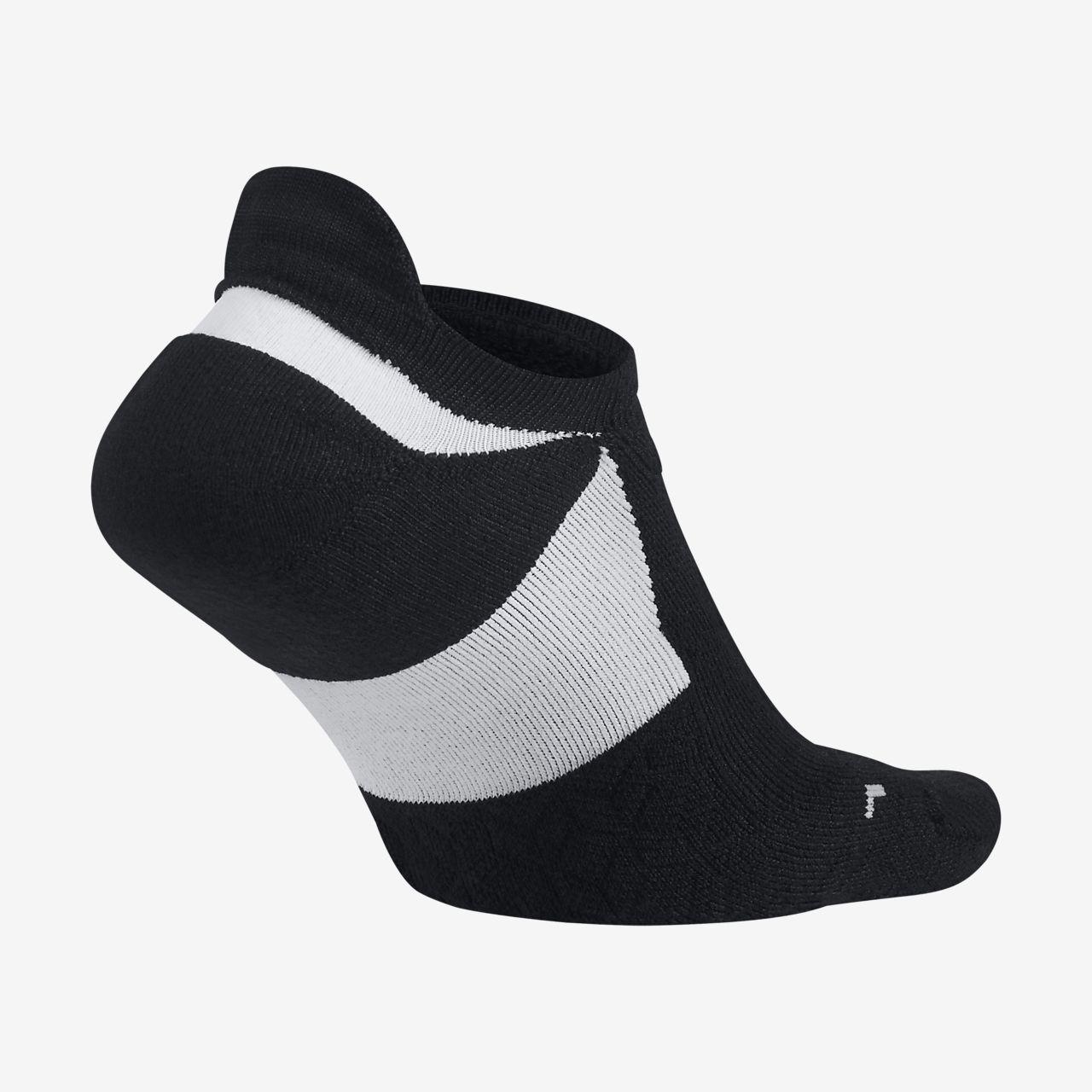 Nike Elite Cushioned No-Show-løbestrømper
