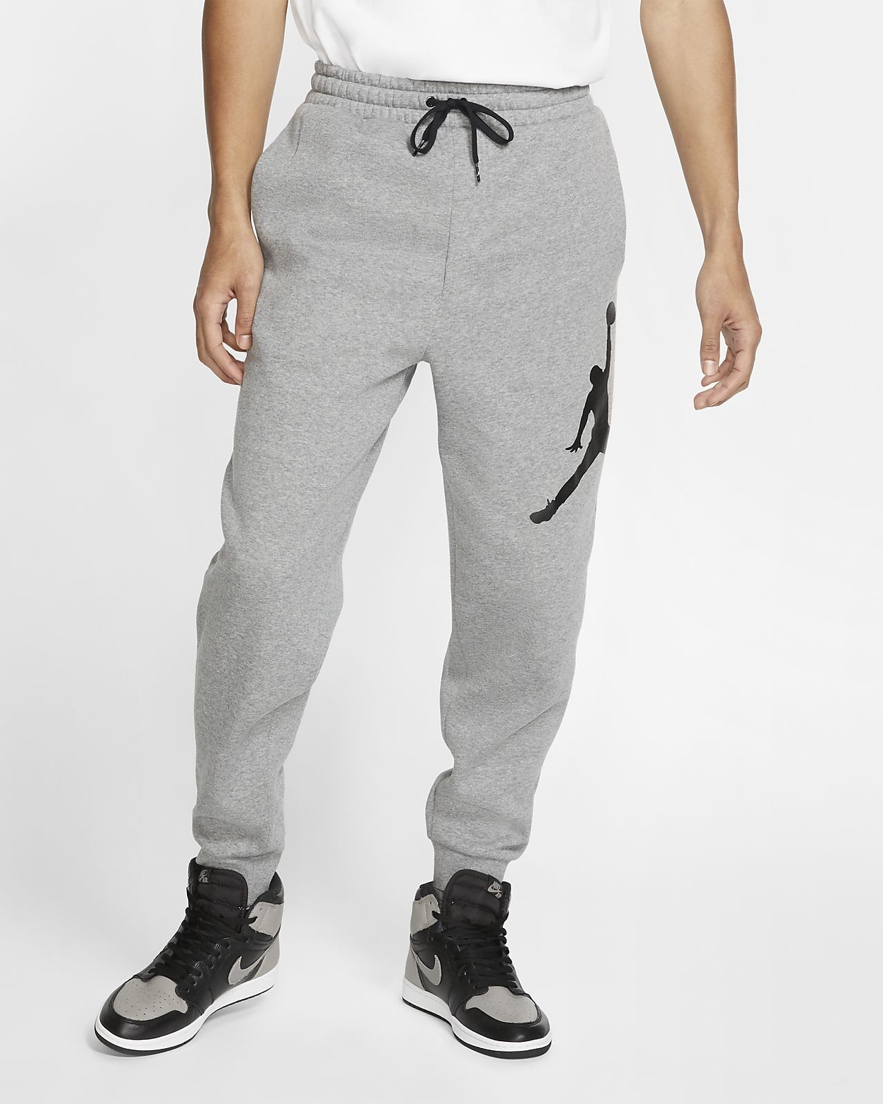 Pantalones de tejido Fleece para hombre Jordan Jumpman Logo