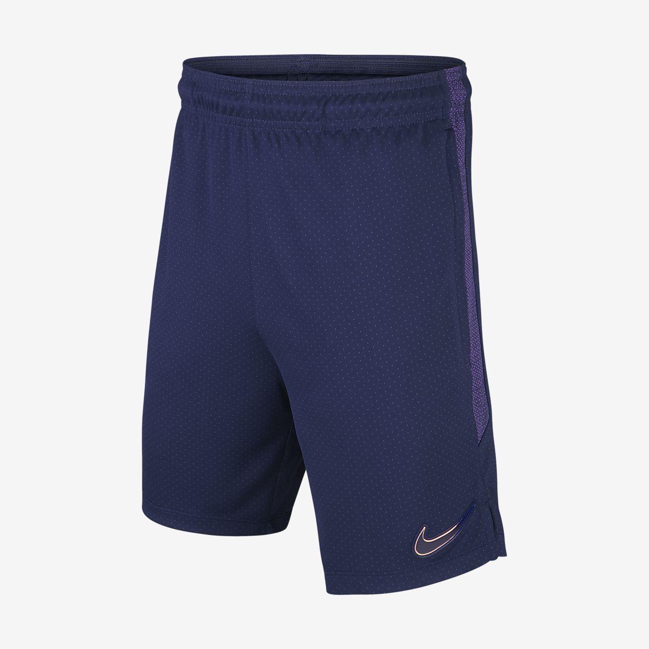 Fotbalové tréninkové kraťasy Nike Dri-FIT Tottenham Hotspur Strike pro větší děti