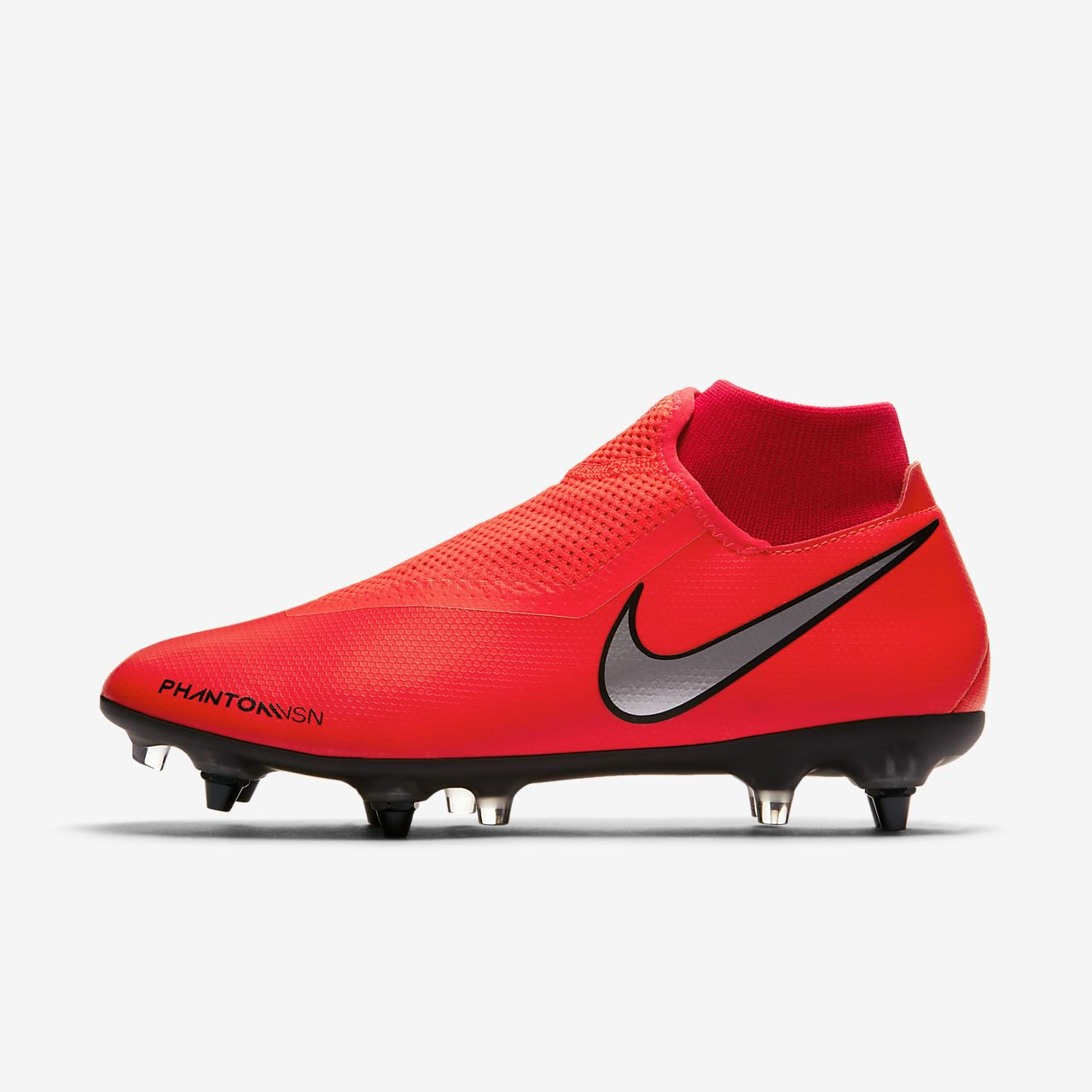 Nike PhantomVSN Academy Dynamic Fit SG-Pro Anti-Clog Traction Voetbalschoen (zachte ondergrond)
