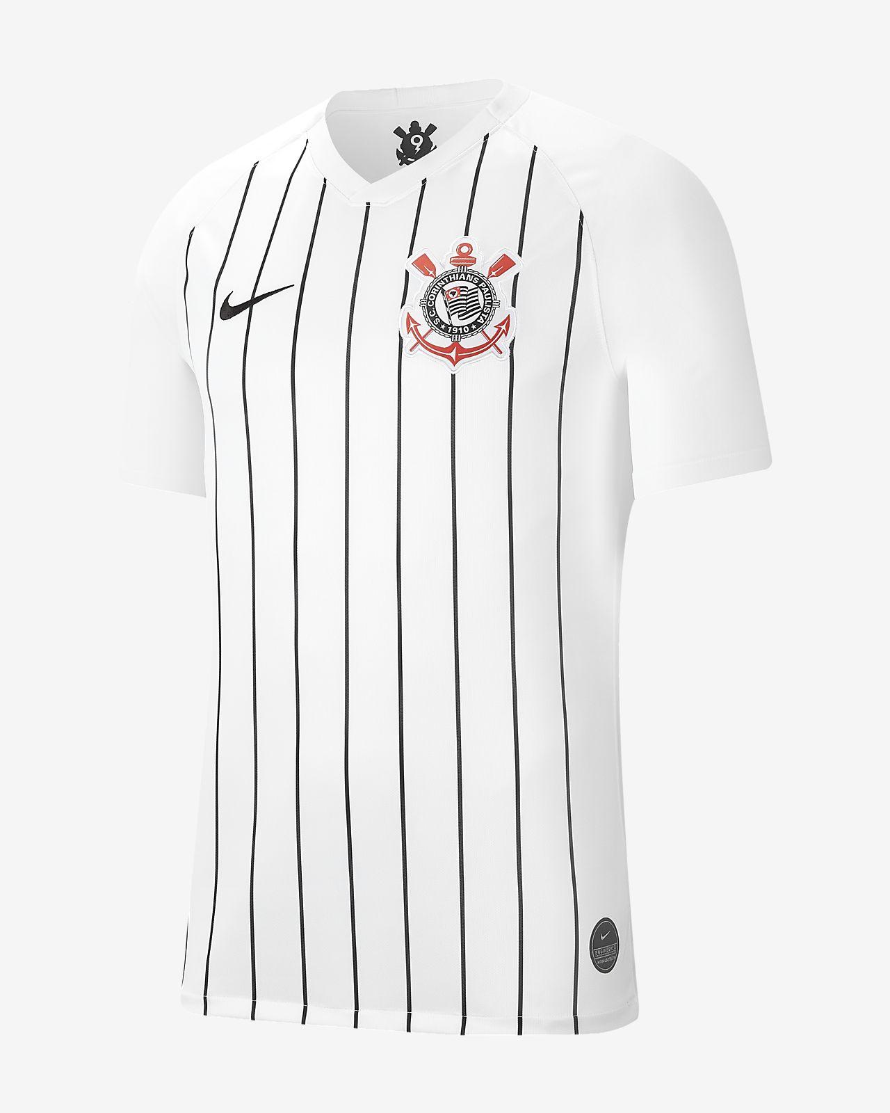 S.C. Corinthians 2019/20 Stadium Home Herren-Fußballtrikot