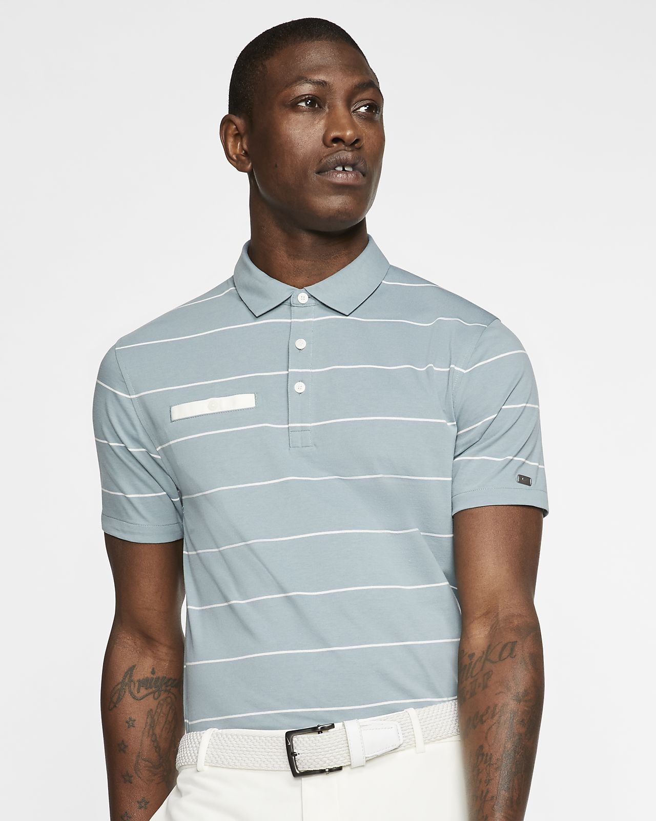 Nike Dri-FIT Player Men's Striped Golf Polo