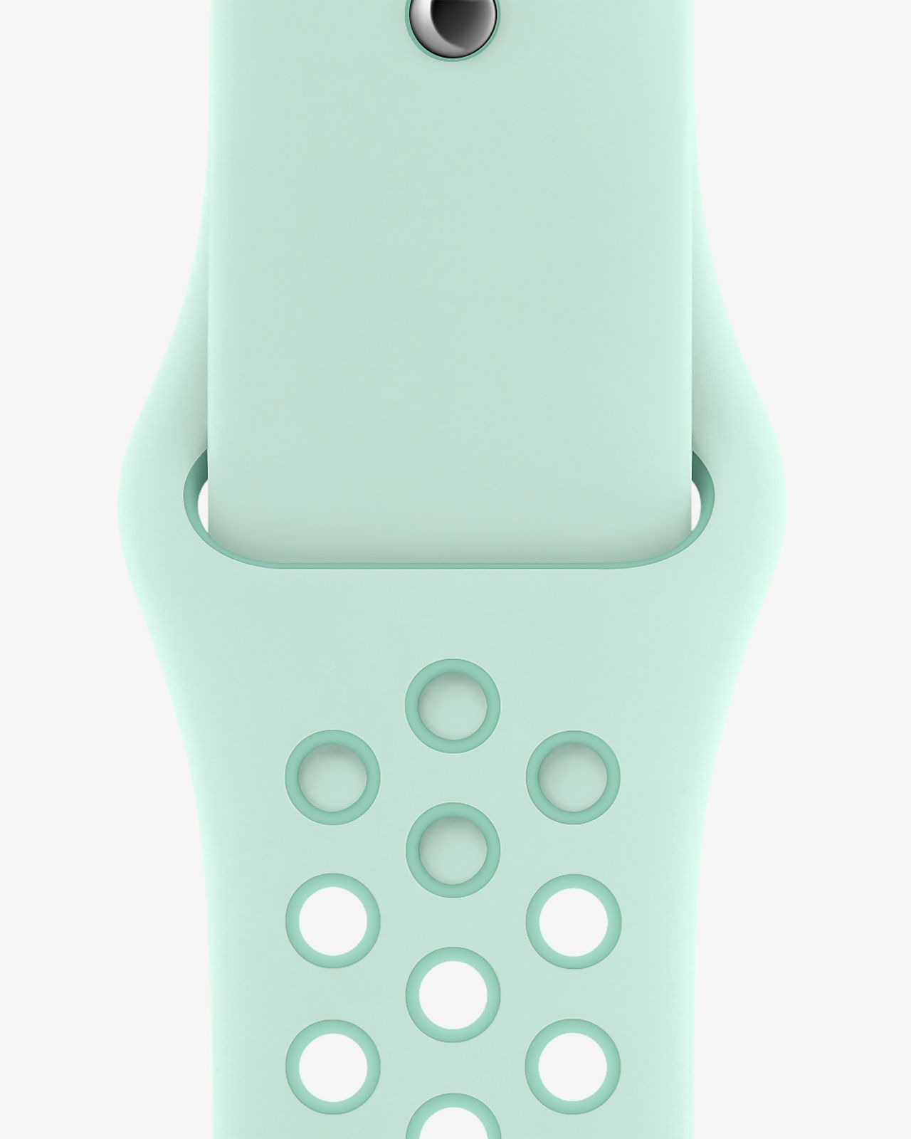 Sportbandje van Nike — Teal Tint/Tropical Twist (44 mm, S/M en M/L)
