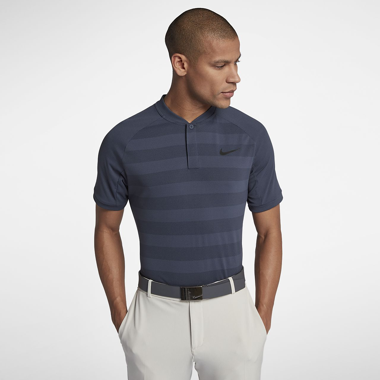 ... Nike Zonal Cooling Momentum Men's Slim-Fit Golf Polo