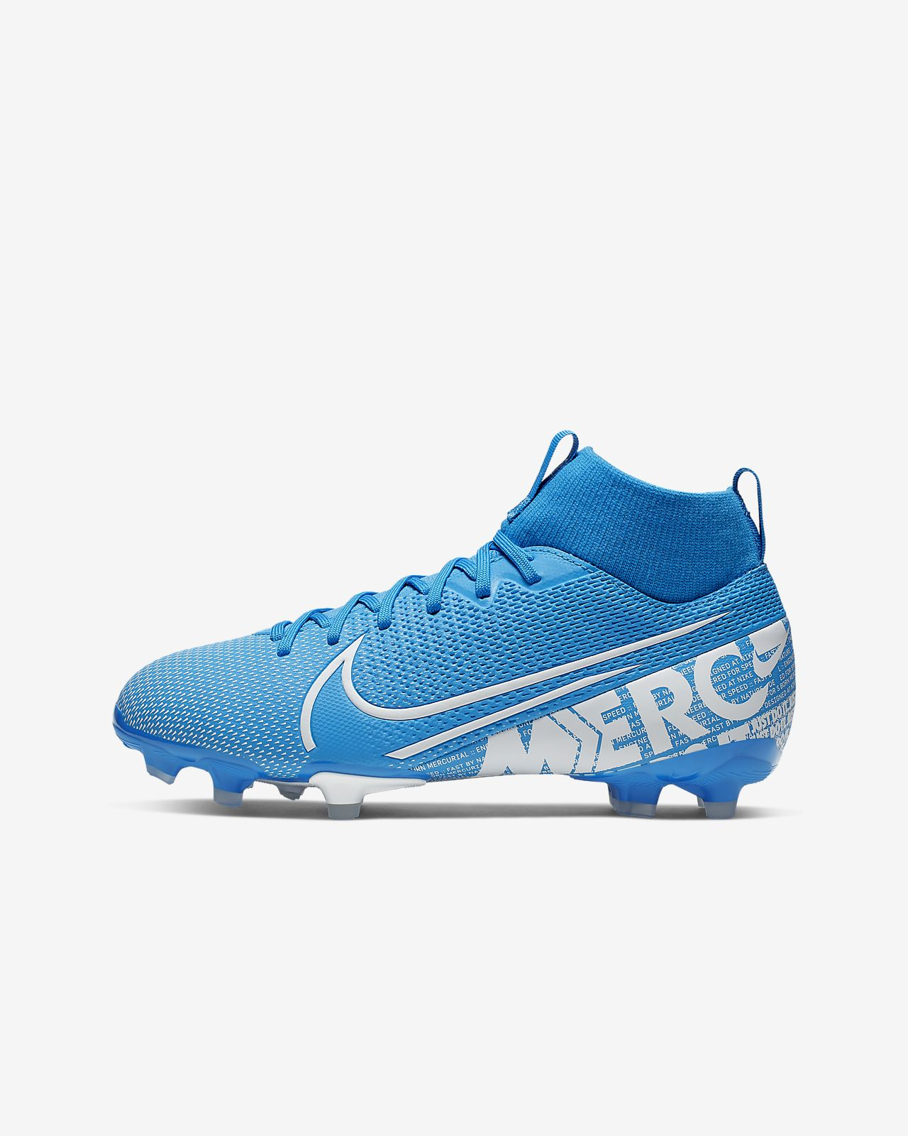 Nike Jr. Mercurial Superfly 7 Academy MG többféle talajra készült futballcipő gyerekeknek