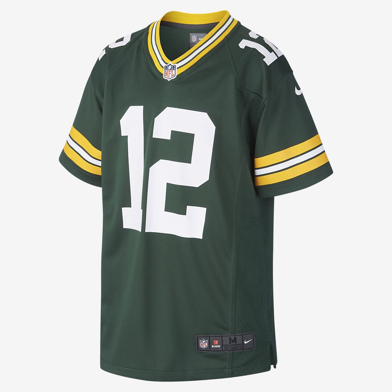 Maillot de football américain NFL Green Bay Packers Game (Aaron Rodgers) pour Enfant plus âgé
