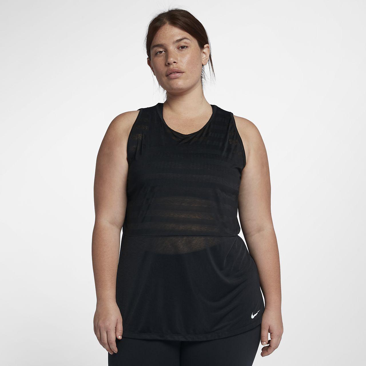 brand new ff4af dc102 ... Débardeur de training Nike Breathe pour Femme (grande taille)