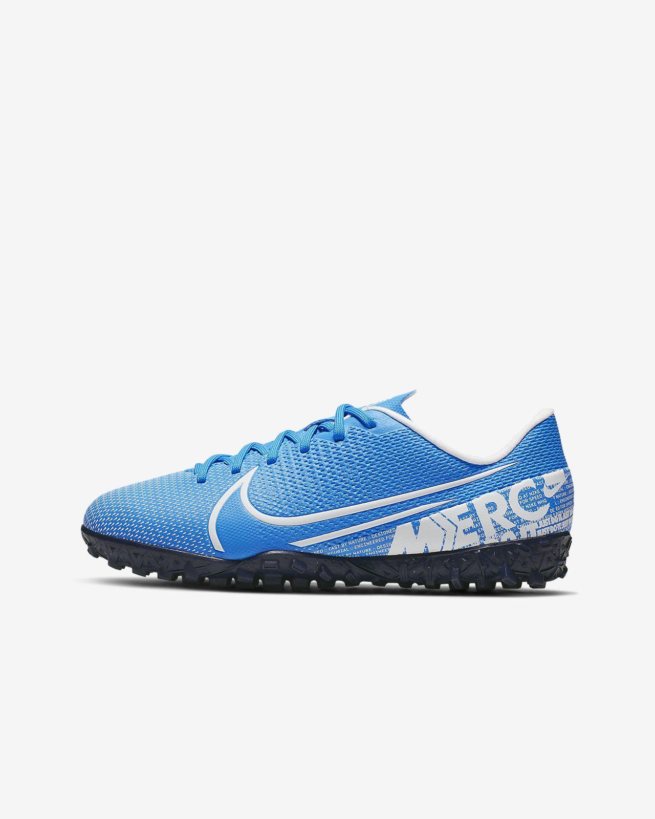 Nike Jr. Mercurial Vapor 13 Academy TF Botas de fútbol para moqueta - Turf artificial - Niño/a y niño/a pequeño/a