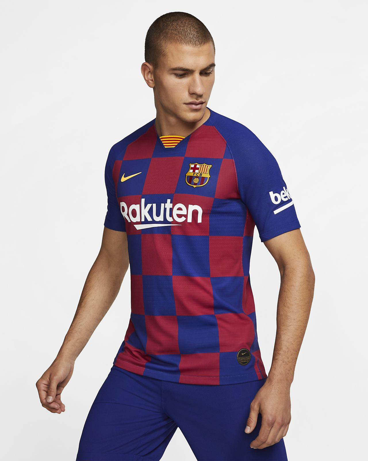 ea08193c ... Camiseta de fútbol para hombrede local Vapor Match del FC Barcelona 2019 /20