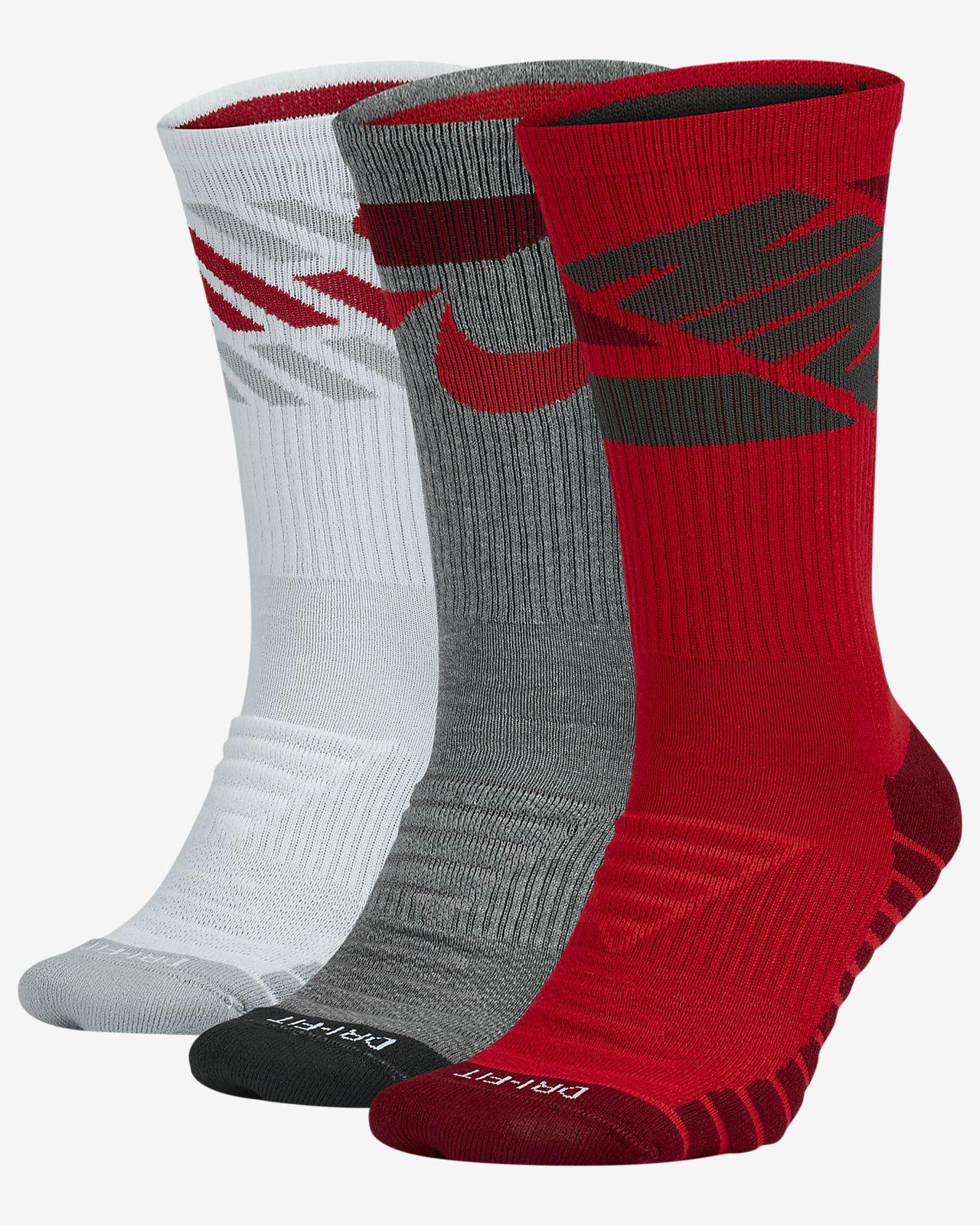 Nike Dry Crew Socks (3 Pair)