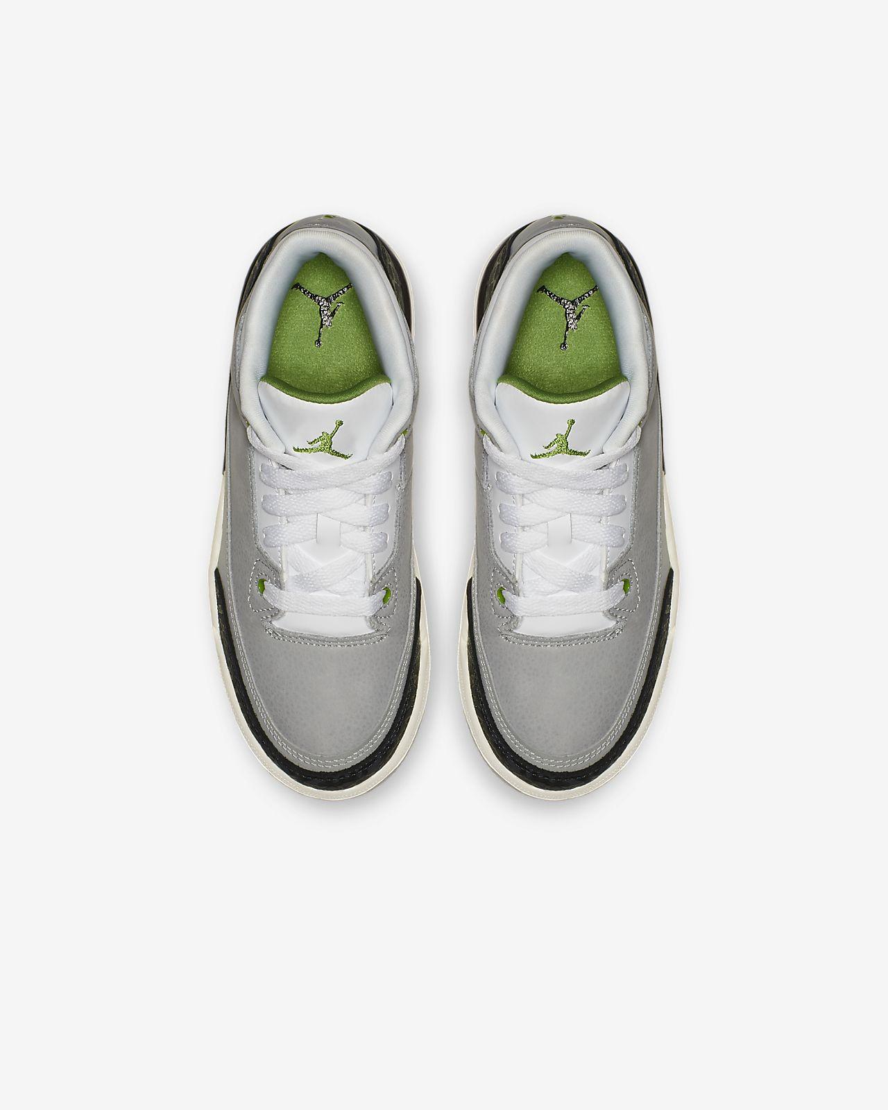 9e93072f6ced Air Jordan Retro 3 Younger Kids  Shoe. Nike.com SG