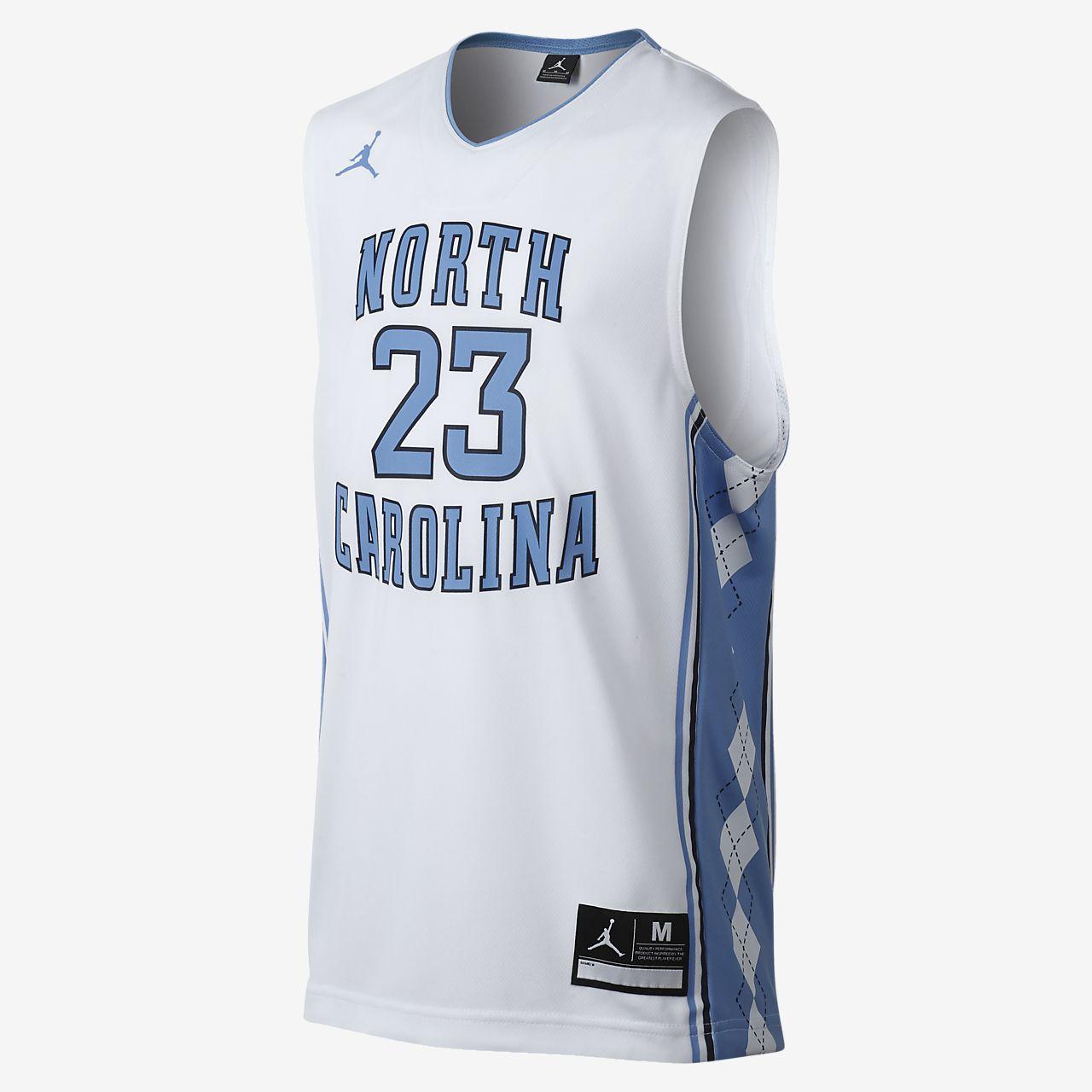 d297673c1 Jordan Replica (UNC) Big Kids  Basketball Jersey. Nike.com