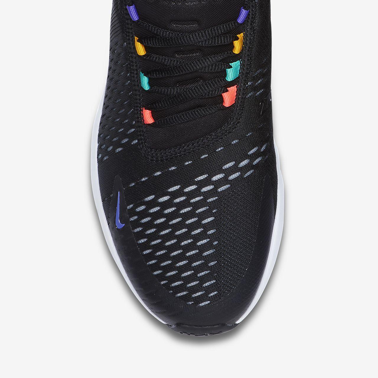 Nike Air Max 270 Mens Trainers Gold Black 9 UK