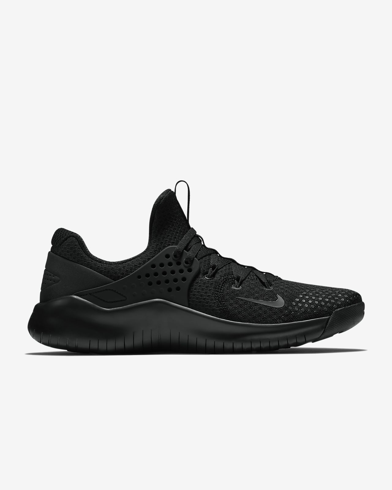 Nike Performance FREE TRAINER V8 - Sports shoes - black/white/red blaze SUwMhn