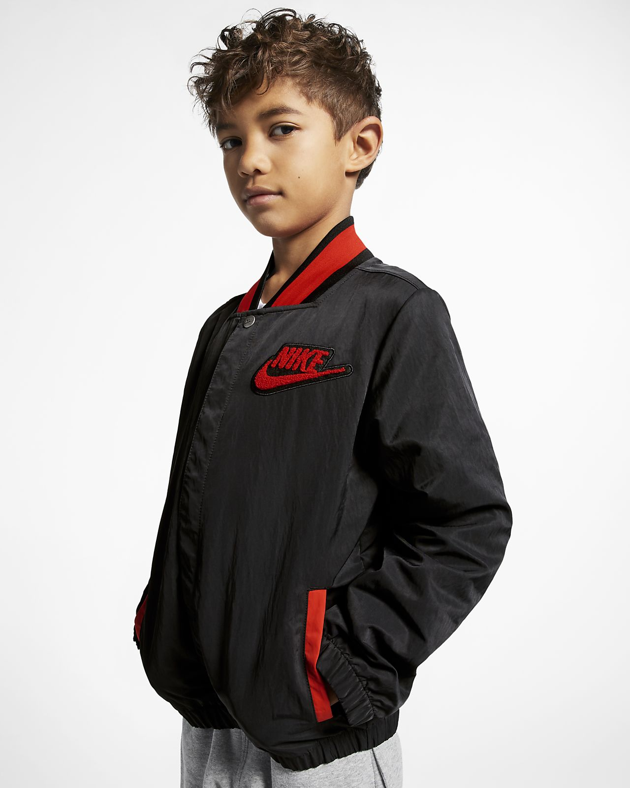 "Nike Sportswear ""Hoopfly"" Big Kids' (Boys') Jacket"