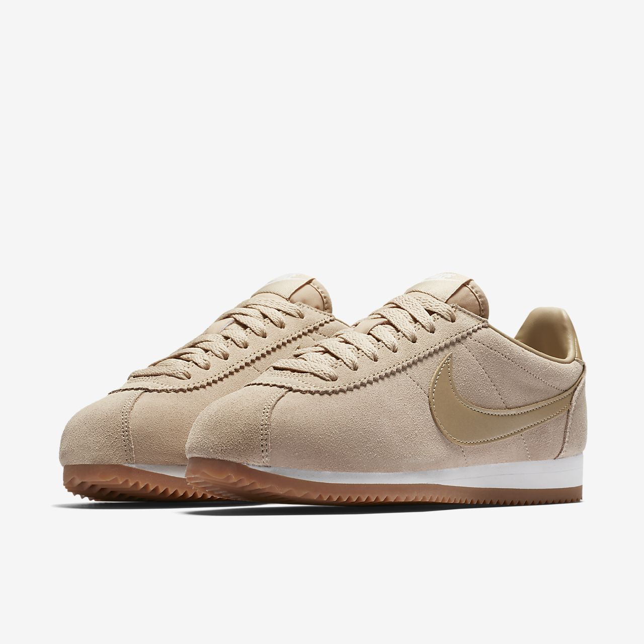 nike classic cortez suede womens shoe nikecom