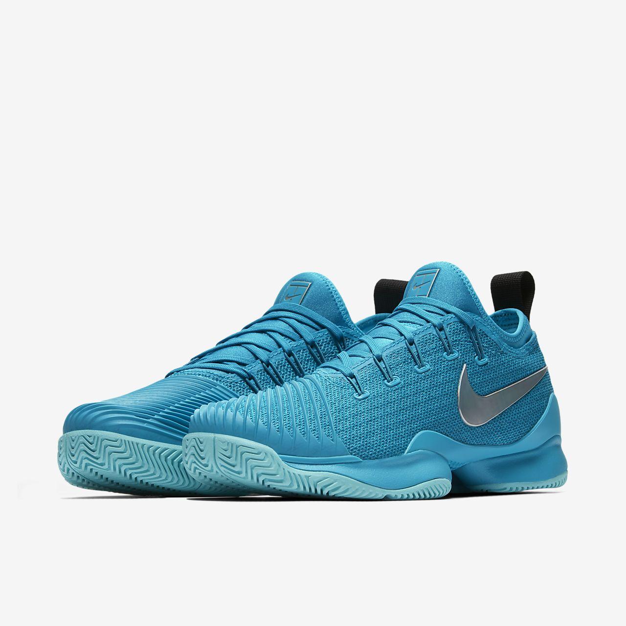 NikeCourt Air Zoom Ultra React HC Damen-Tennisschuh - Blau L6aKICah
