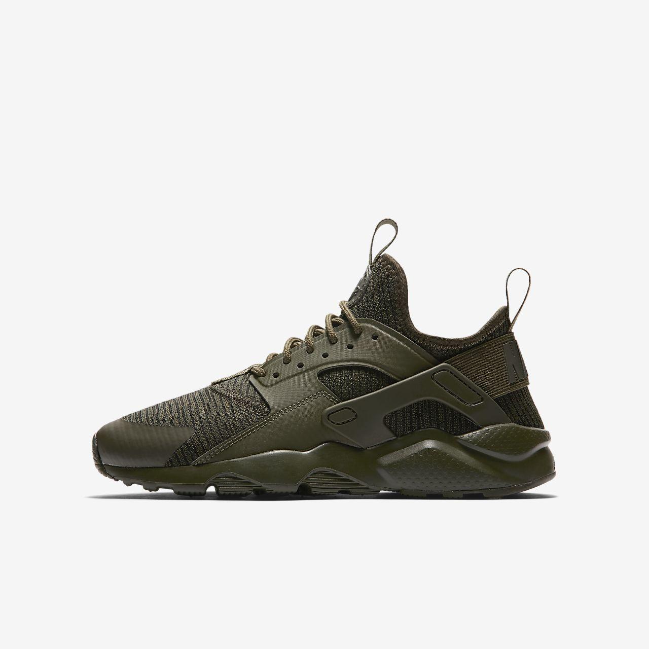 Nike Sneakers Huarache D'air De Couche De Vêtements De Sport Exécuter Ultra « Black PZNb8fliO