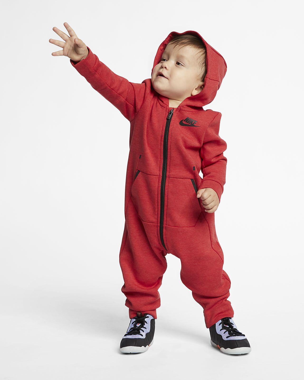Nike Sportswear Tech Fleece Mono con capucha - Bebé (12-24 M)