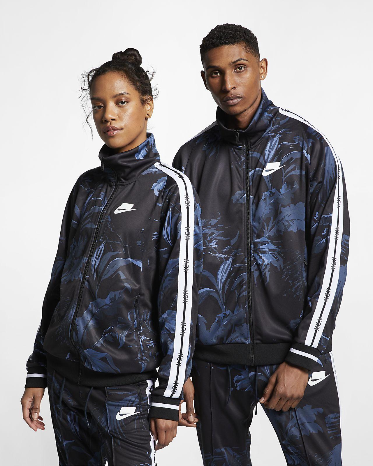 Nike Sportswear NSW mønstret treningsjakke