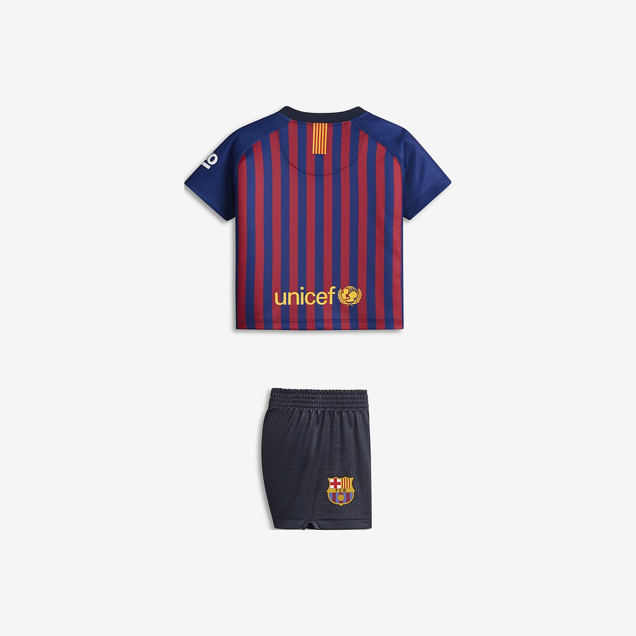 e638fa0afd1 2018/19 FC Barcelona Stadium Home Baby Football Kit. Nike.com SK