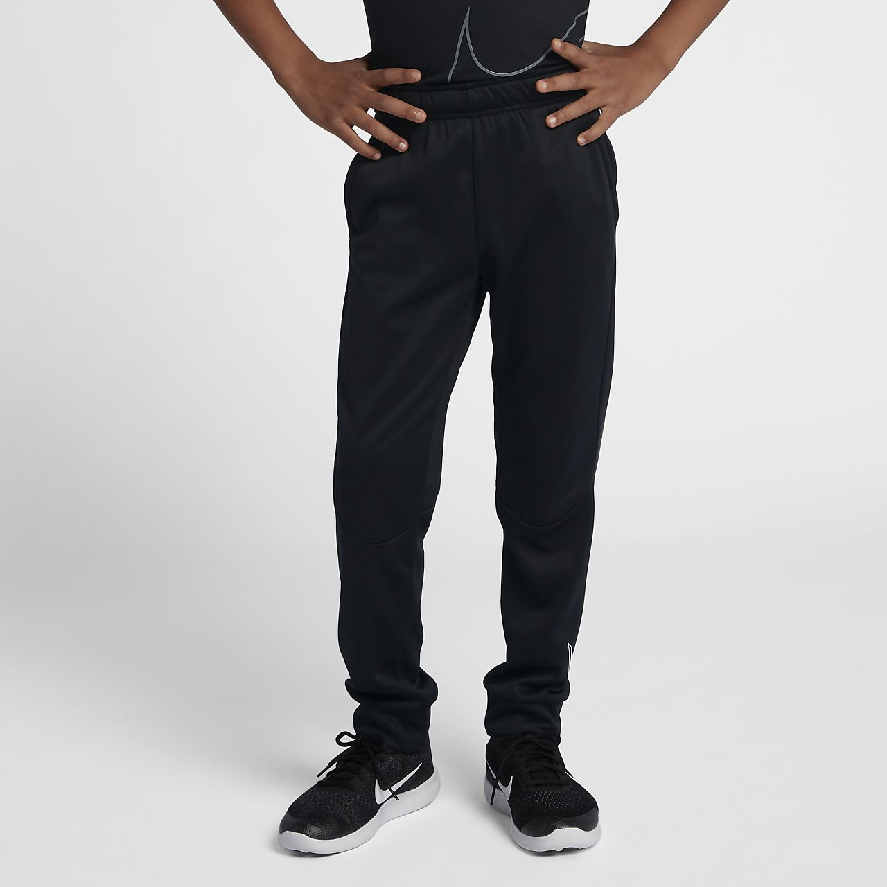 Nike Dri-FIT Therma Older Kids' (Boys') Training Trousers